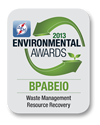 2013 Environmental Awards: Waste Management Resource Recovery